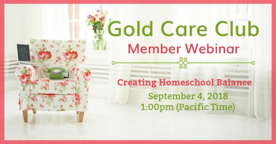 Gold Care Club Webinar: September 4, 2018