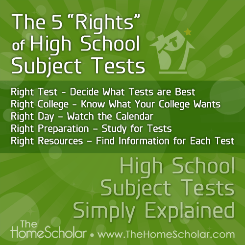 High School Subject Tests Simply Explained: AP - SAT - CLEP – Making Sense of the Acronym Avalanche #Homeschool @TheHomeScholar