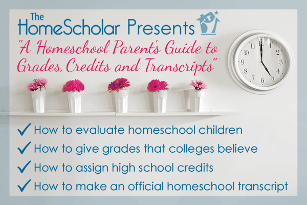 a homeschool report card for high school #Homeschool @TheHomeScholar