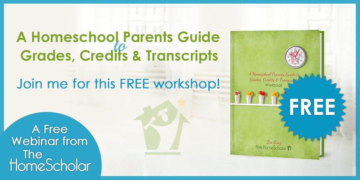 Free workshop! Homeschool Records that Open Doors