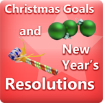Christmas Goals and New Years Resolutions Thank You