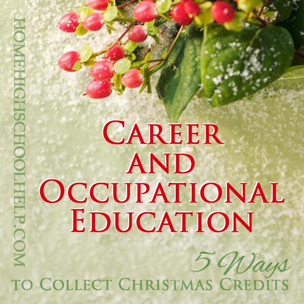 5 Ways to Collect Christmas Credits: Use Holiday Fun for #Homeschool High School Credit @TheHomeScholar