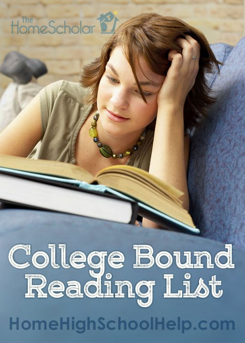 @TheHomeScholar's Reading List for College-Bound Students. #Homeschool