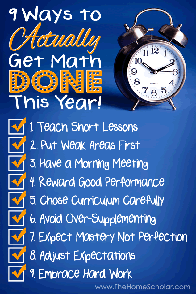 Homescholar page 1 9 ways to actually get homeschool math done this year thehomescholar fandeluxe Gallery