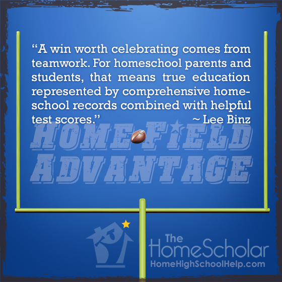 Home Field Advantage: Better #Homeschooling through Football