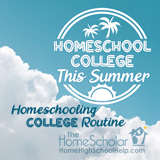 #Homeschool College this Summer! @TheHomeScholar
