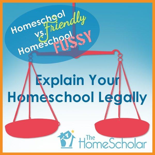 #Homeschool Friendly vs. Homeschool Fussy  @TheHomeScholar