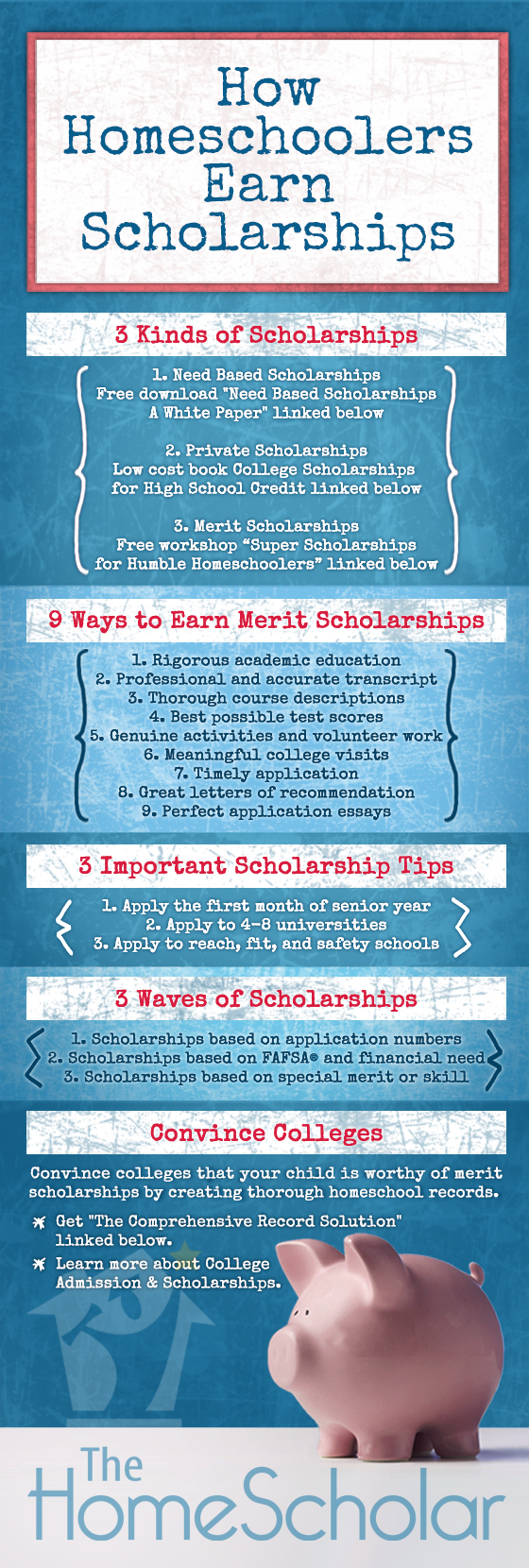 How Homeschoolers Earn Scholarships | Newsletter Articles | HomeScholar