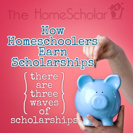 How Homeschoolers Earn Scholarships #Homeschool @TheHomeScholar