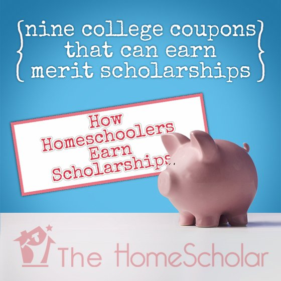 How Homeschoolers Earn Scholarships #Homeschool @TheHomeScholar