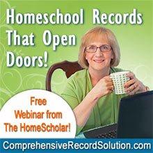 FREE Webinar! Homeschool Records that Open Doors!
