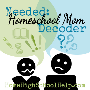Do you need a #Homeschool Wife Decoder? @TheHomeScholar
