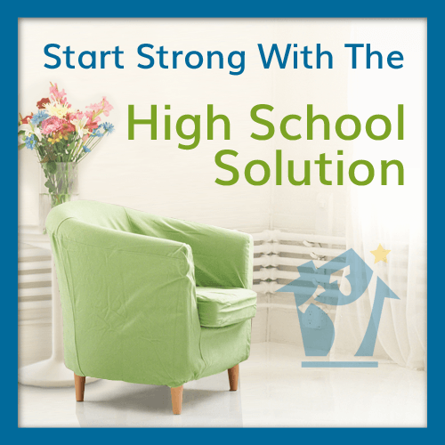 @TheHomeScholar Start Strong with the High School Solution for #Homeschooling