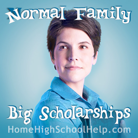 Big Scholarships happen to Normal People! @TheHomeScholar