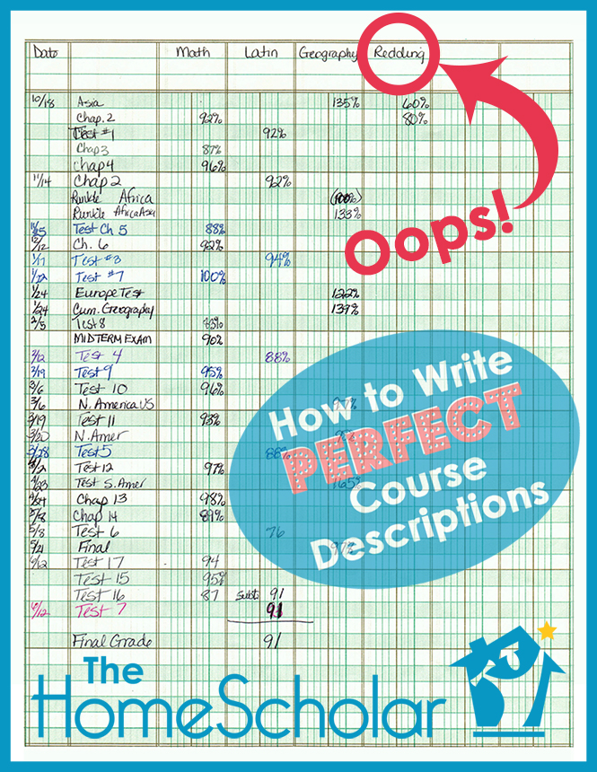 How to Write Perfect Course Descriptions