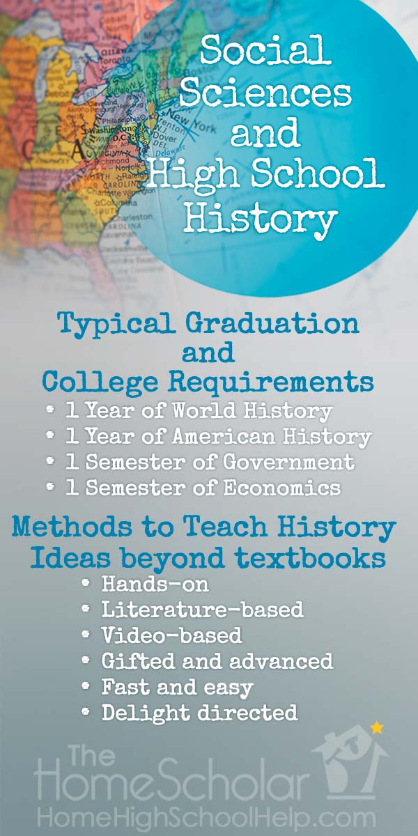 Social Sciences and High School History