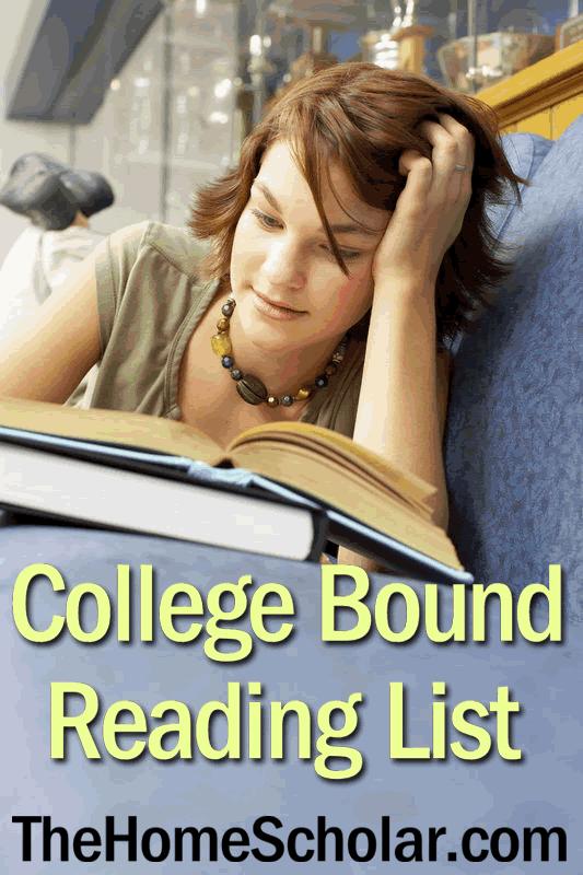 College Bound Reading List