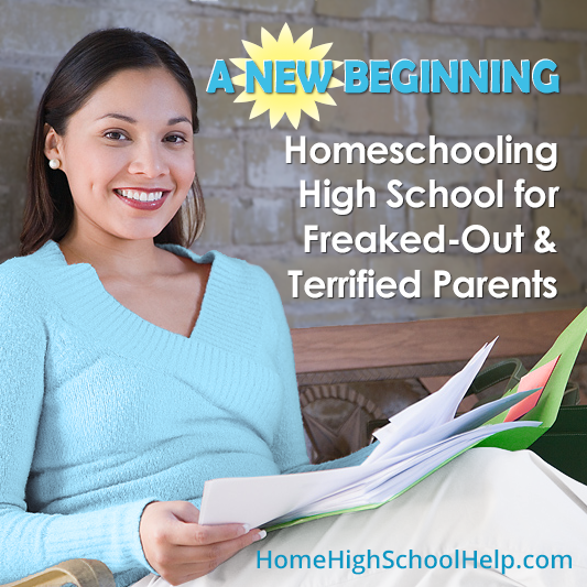 Simple steps for freaked out and terrified #homeschool parents who feel overwhelmed by details, and crave simplicity. @TheHomeScholar