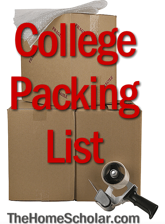 Before your student leaves home for college, they need pack!
