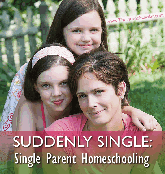Suddenly Single: Single Parent #Homeschooling @TheHomeScholar