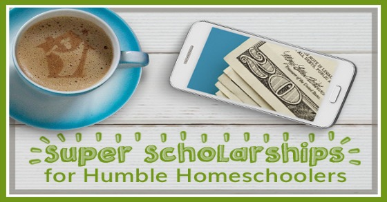 [Free workshop] Super Scholarships for Humble Homeschoolers. Free July 17 & 19, 2018.