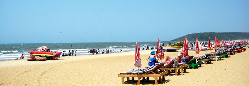 baga beach pic