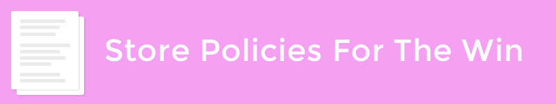 store policies for deals