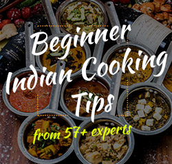 Beginner indian cooking tips