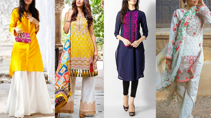 fashionable indian kurti