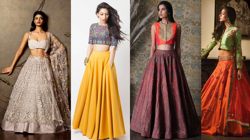 fashionable lahenga skirts