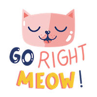 go right meow