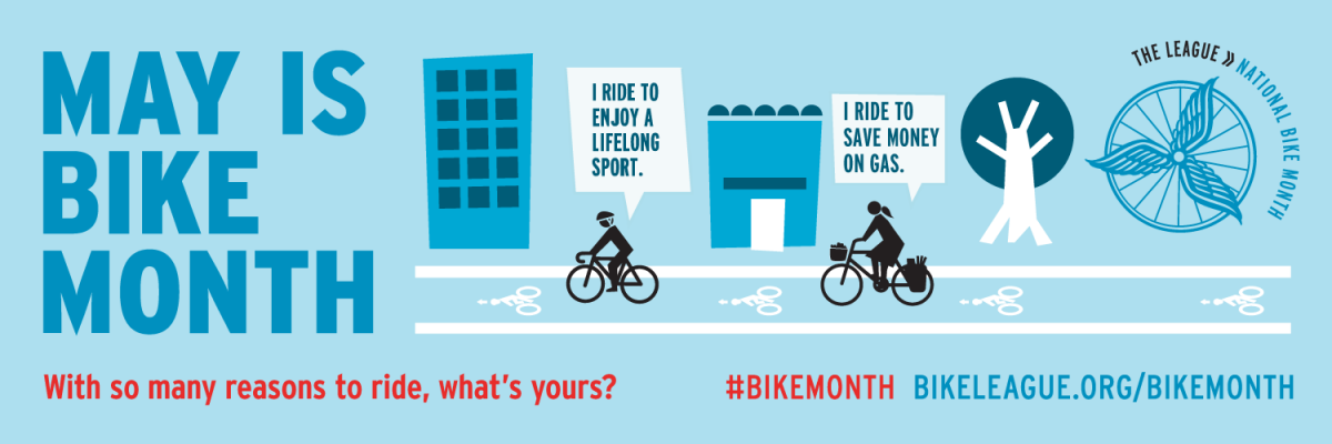 Happy National Bike Month! Biking to Work Is Good for Your Health
