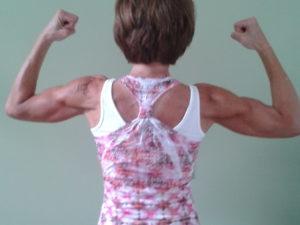 back flex pose