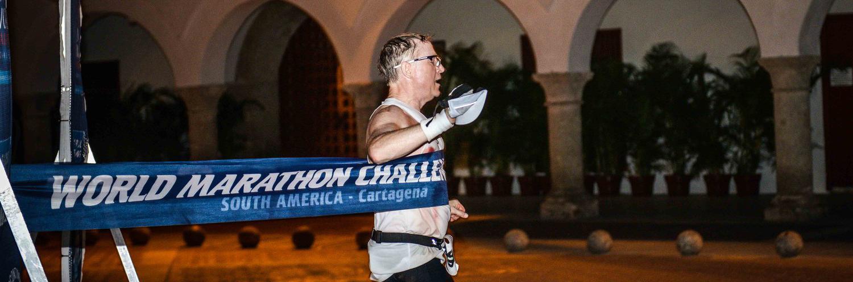 Health Hero Jonathan Terrell On the World Marathon Challenge