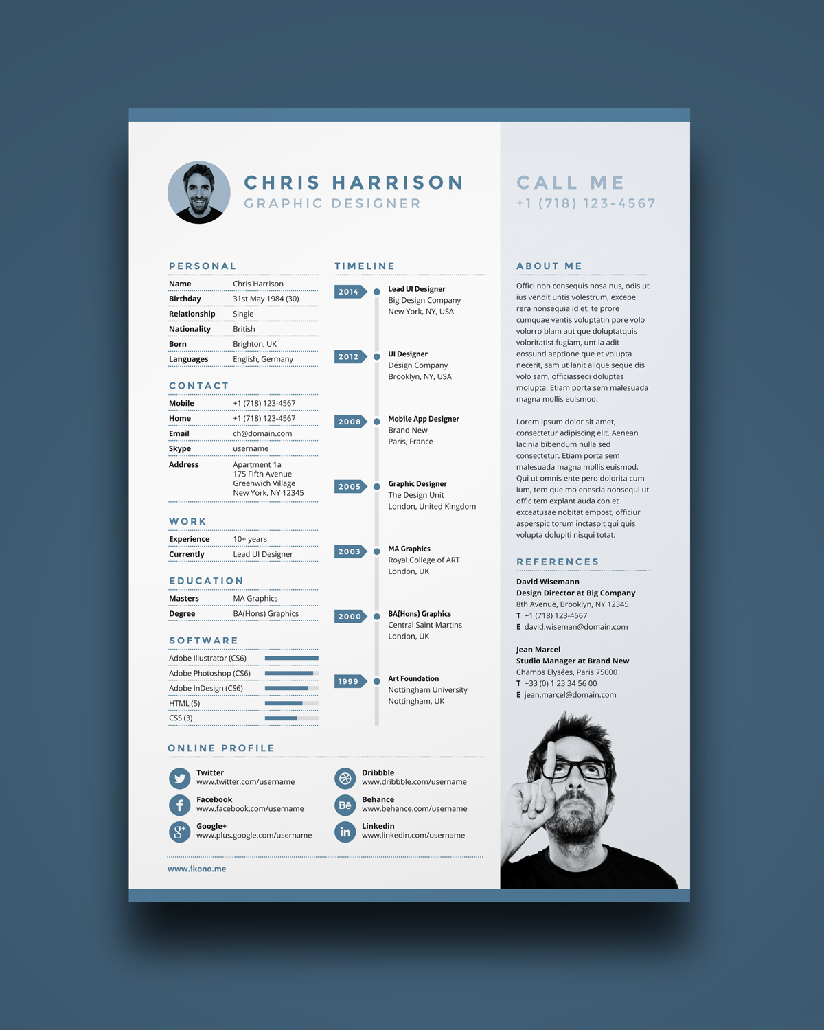 unique resume template  2019 list of 10  unique resume templates
