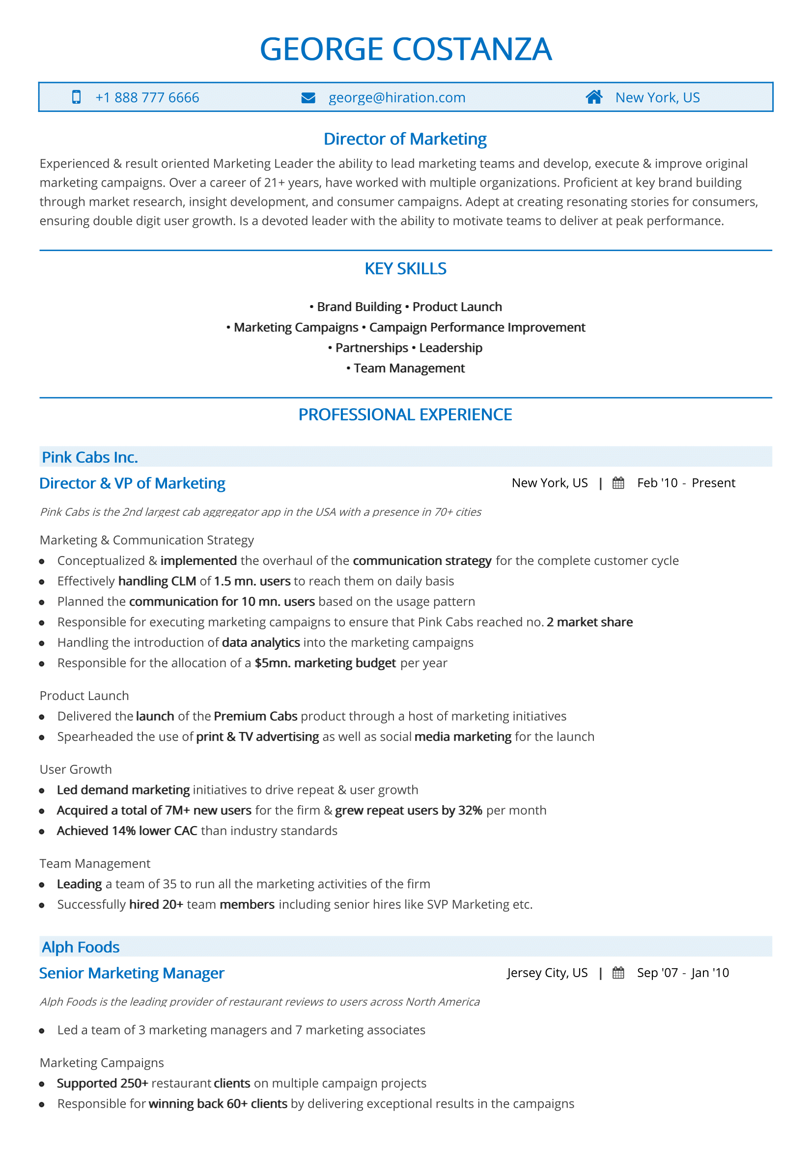 chronological resume the 2018 guide to reverse chronological resumes