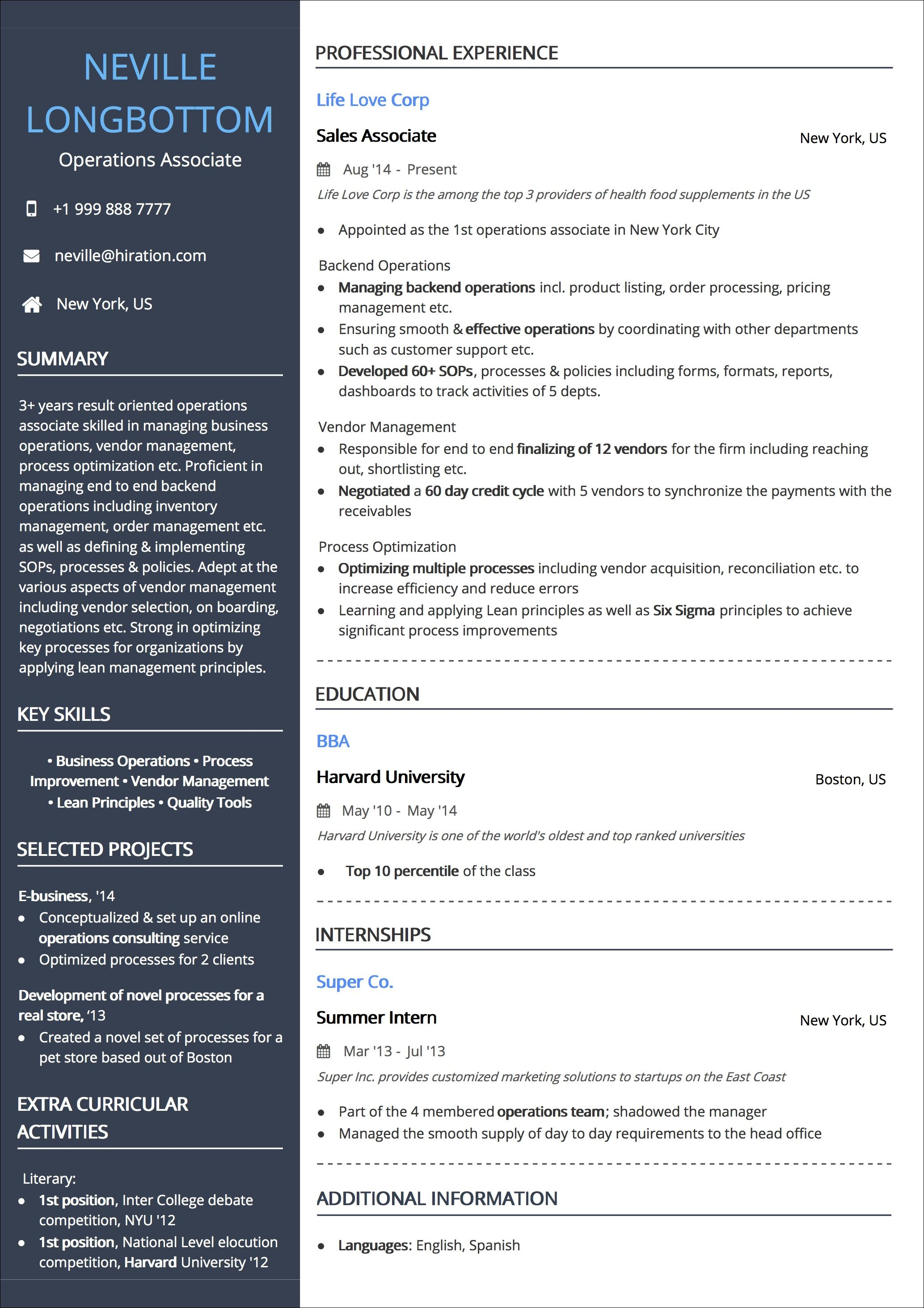 Resume Templates The 2020 Guide To Choosing The Best