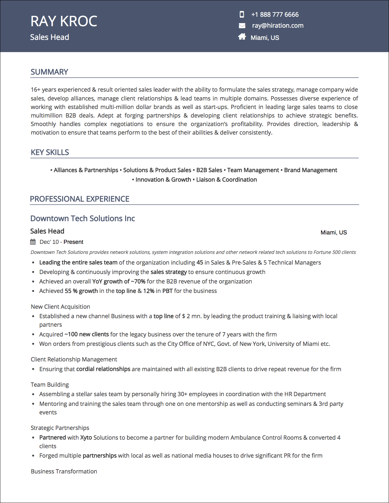 Resume Templates The 2019 Guide To Choosing The Best