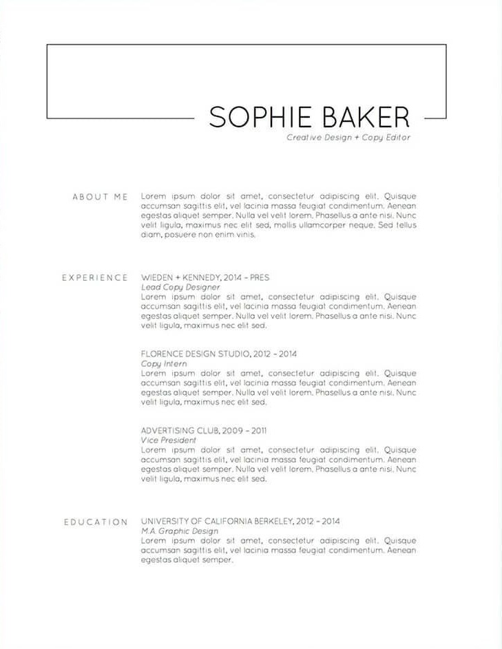 basic-resume-templates-Etsy