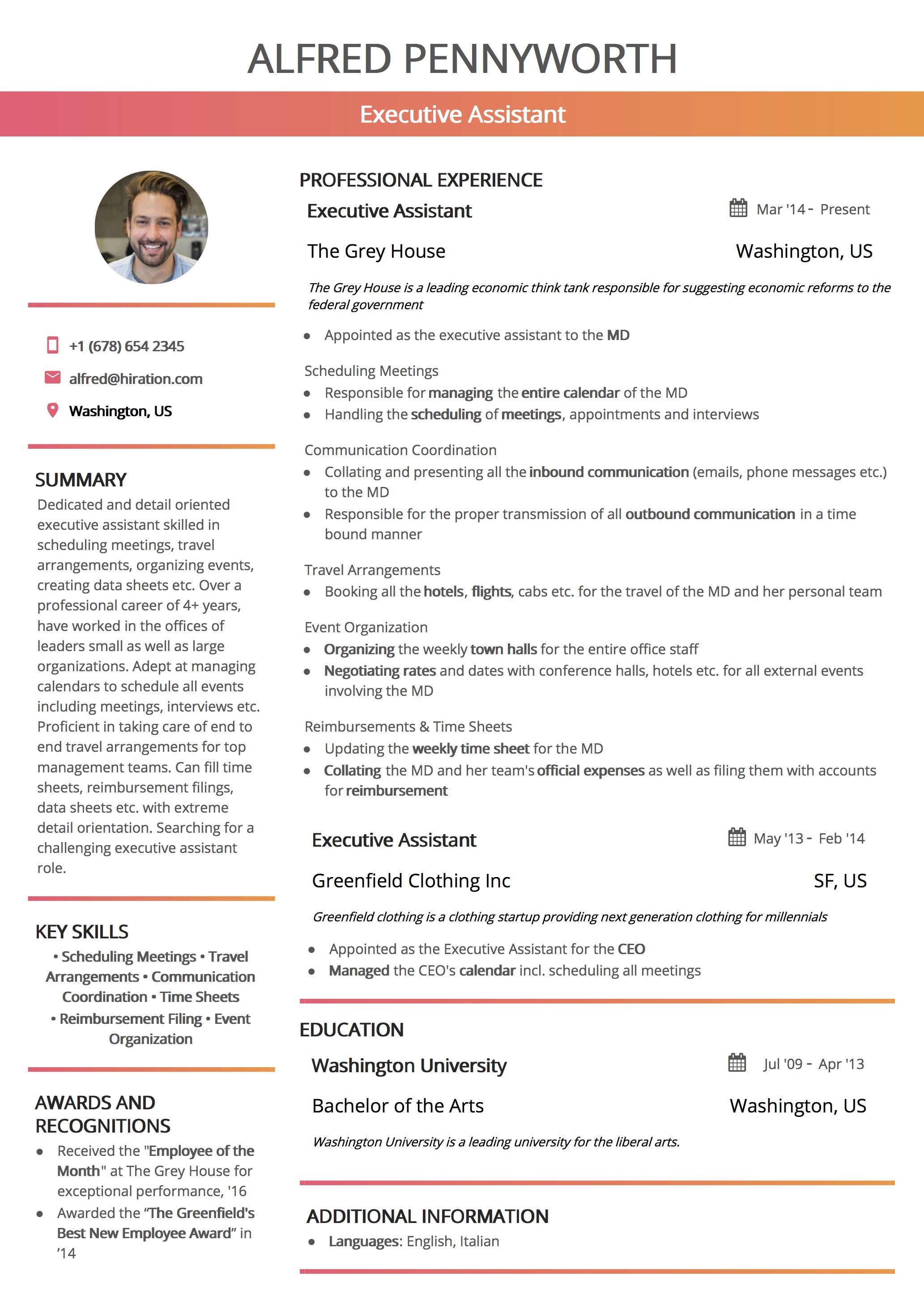 Great Resume Templates: The 2019 List of 7 Great Resume Templates
