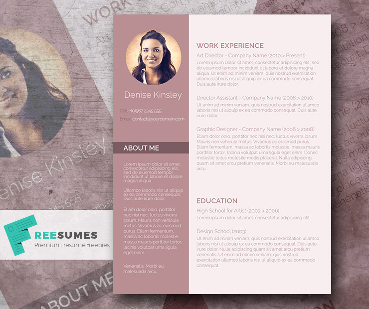chic-resume-template