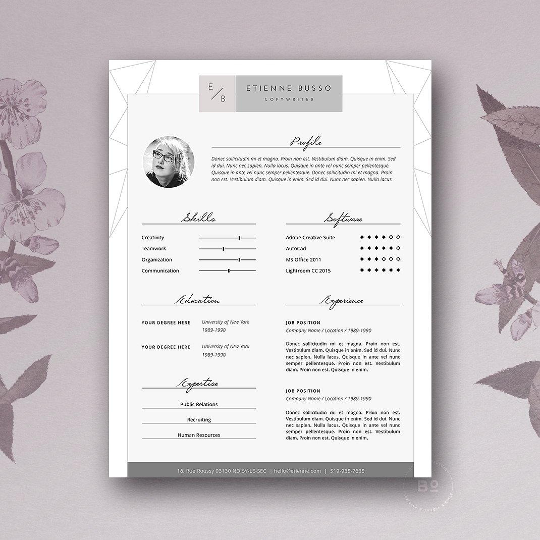Creative Resume Template  List Of  Creative Resume Templates