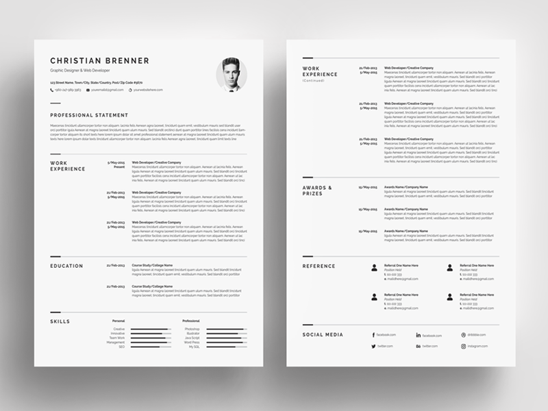 Resume Design The 2020 Guide With 10 Resume Design Templates