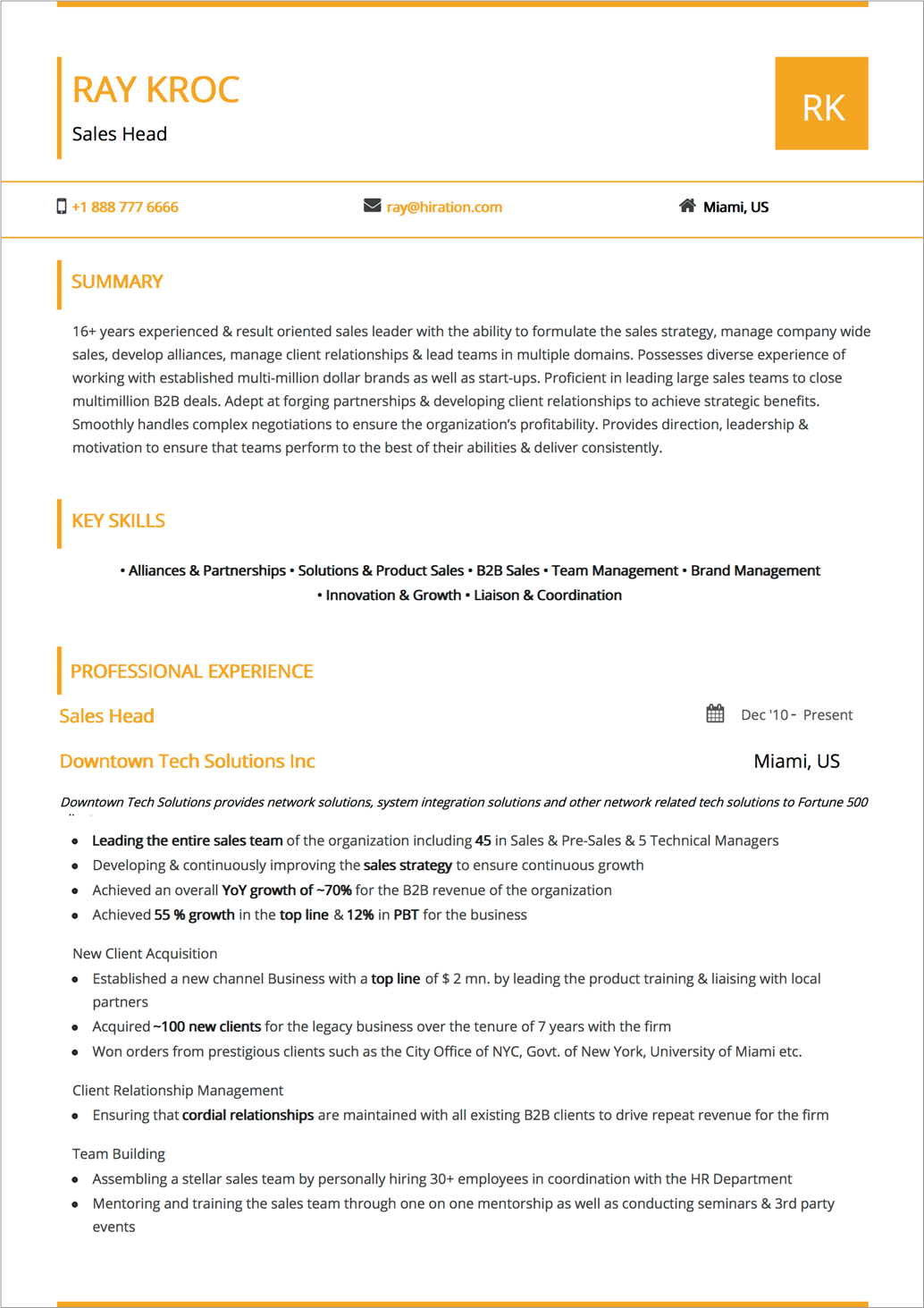 Best Resume Layout 2018 Guide With 50 Examples And Samples