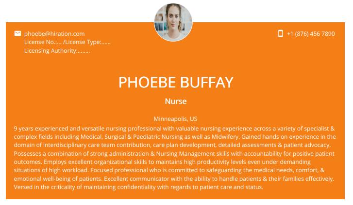 Nursing Resume 2020 Guide To Nursing Resumes Samples Examples