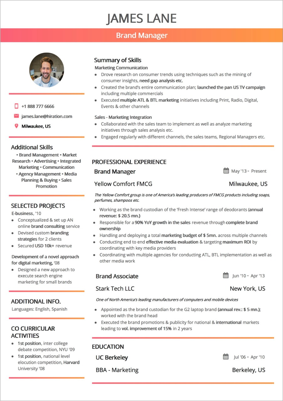 professional-resume-layout