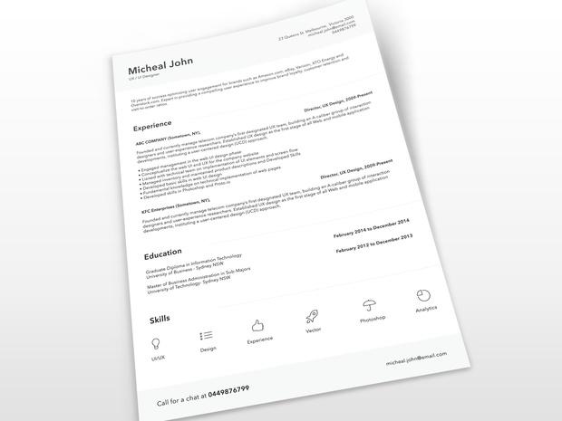 resumetemplate7