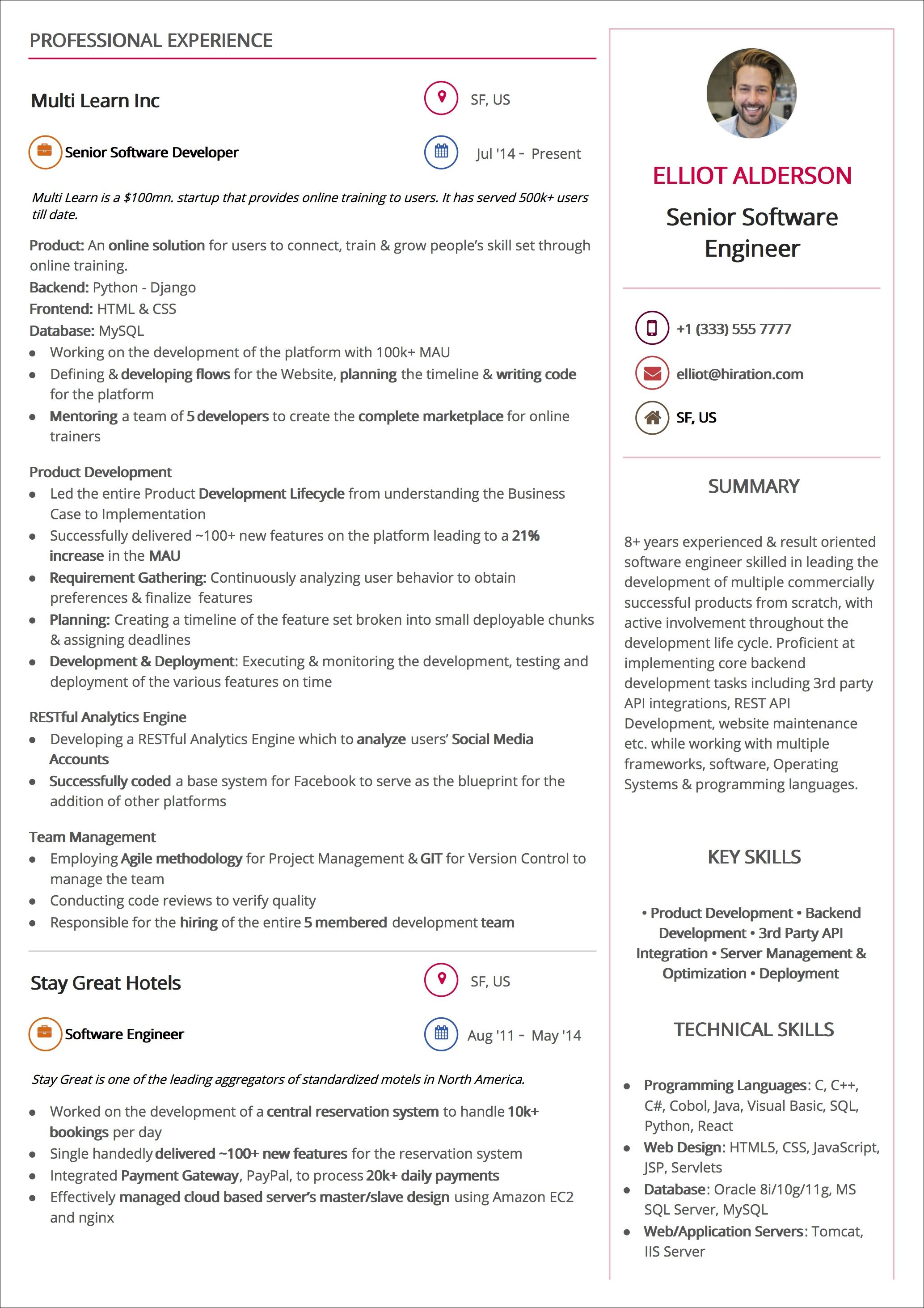 creative resume template  2020 list of 10  creative resume