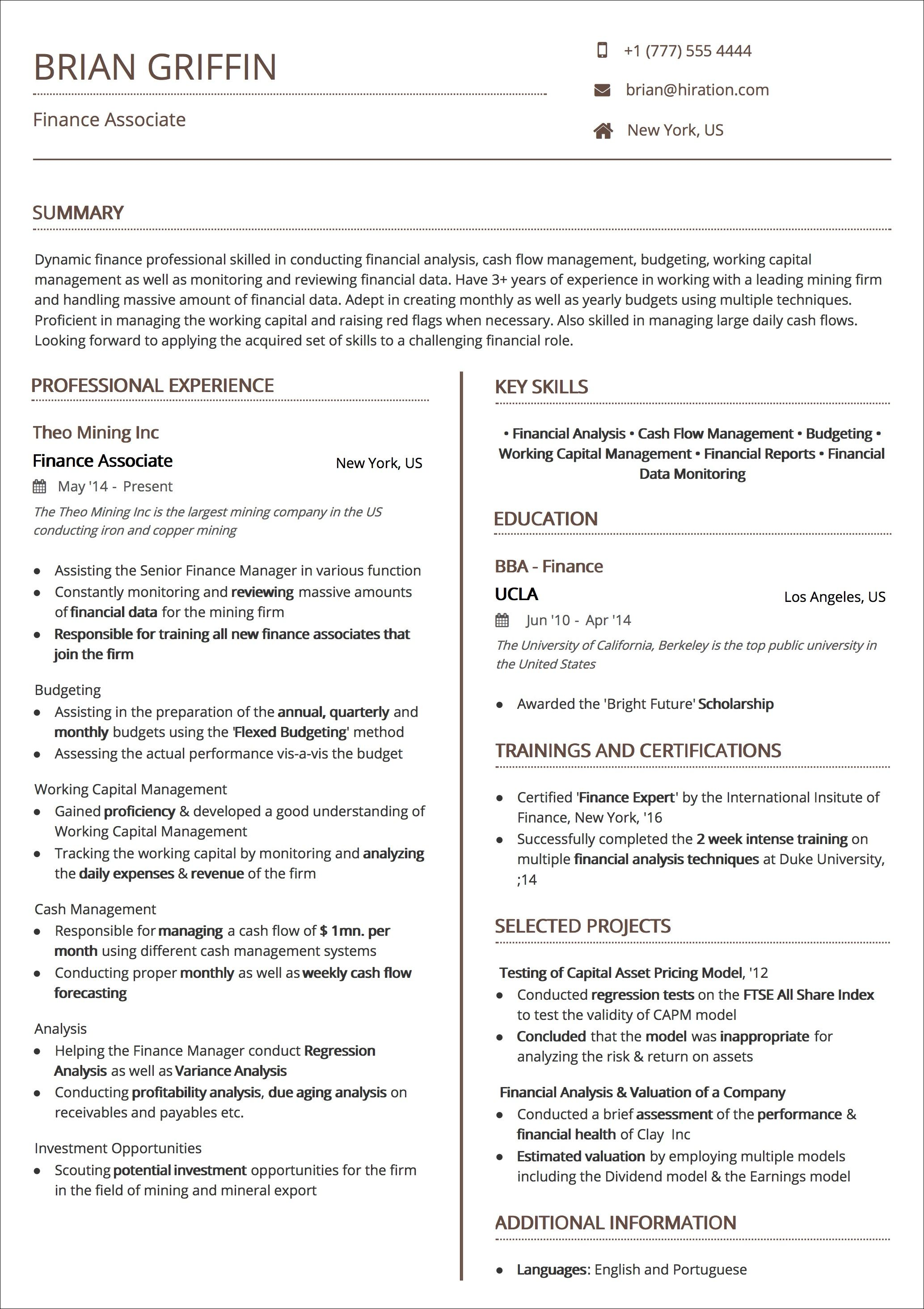 Resume Templates The 2020 Guide To Choosing The Best Resume Template