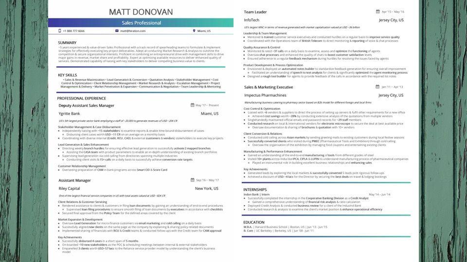best sales resume top 10 best sales resume templates 2018 samples